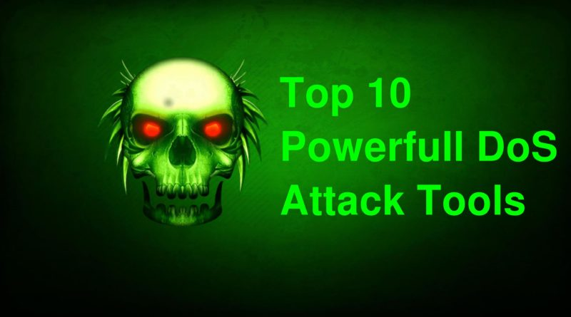 top10 ddos attack tools linux