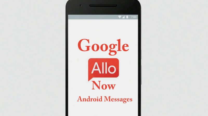 Google Allo Android Messages