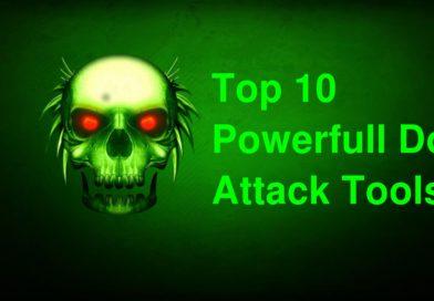 top10 ddos attack tools linux