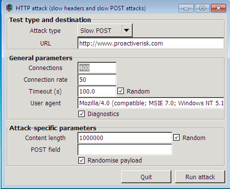 Top10 PowerFull DoS/DDoS Attacking Tools for Linux,Windows