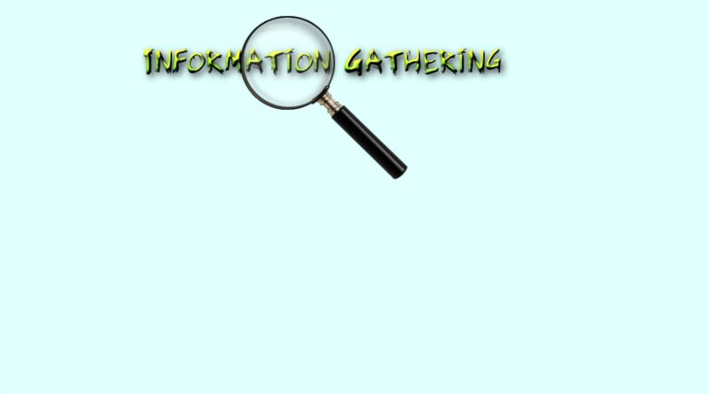 Info_Gathering_Tools