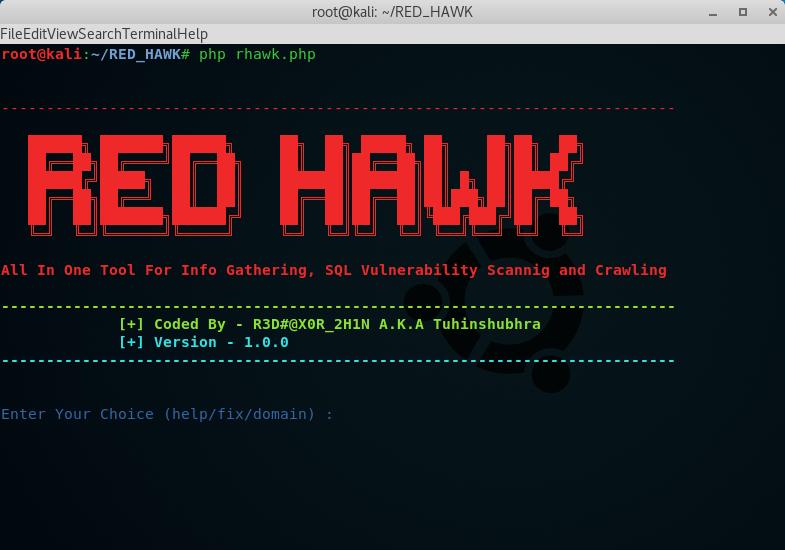 red_hawk tool