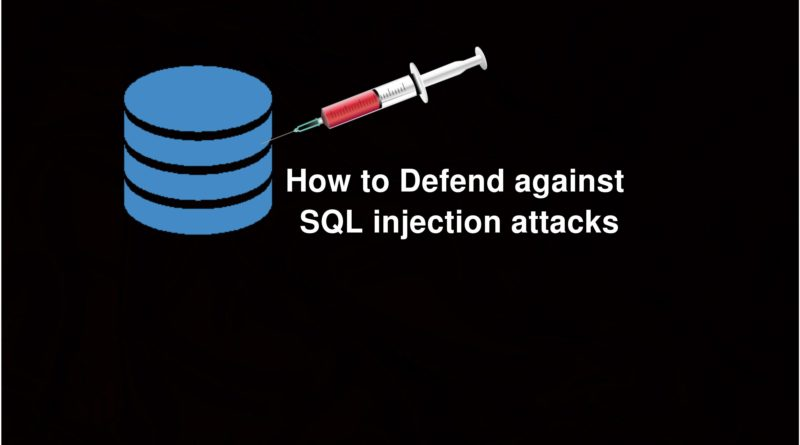 What is SQL Injection & How to Defend against SQL injection attacks